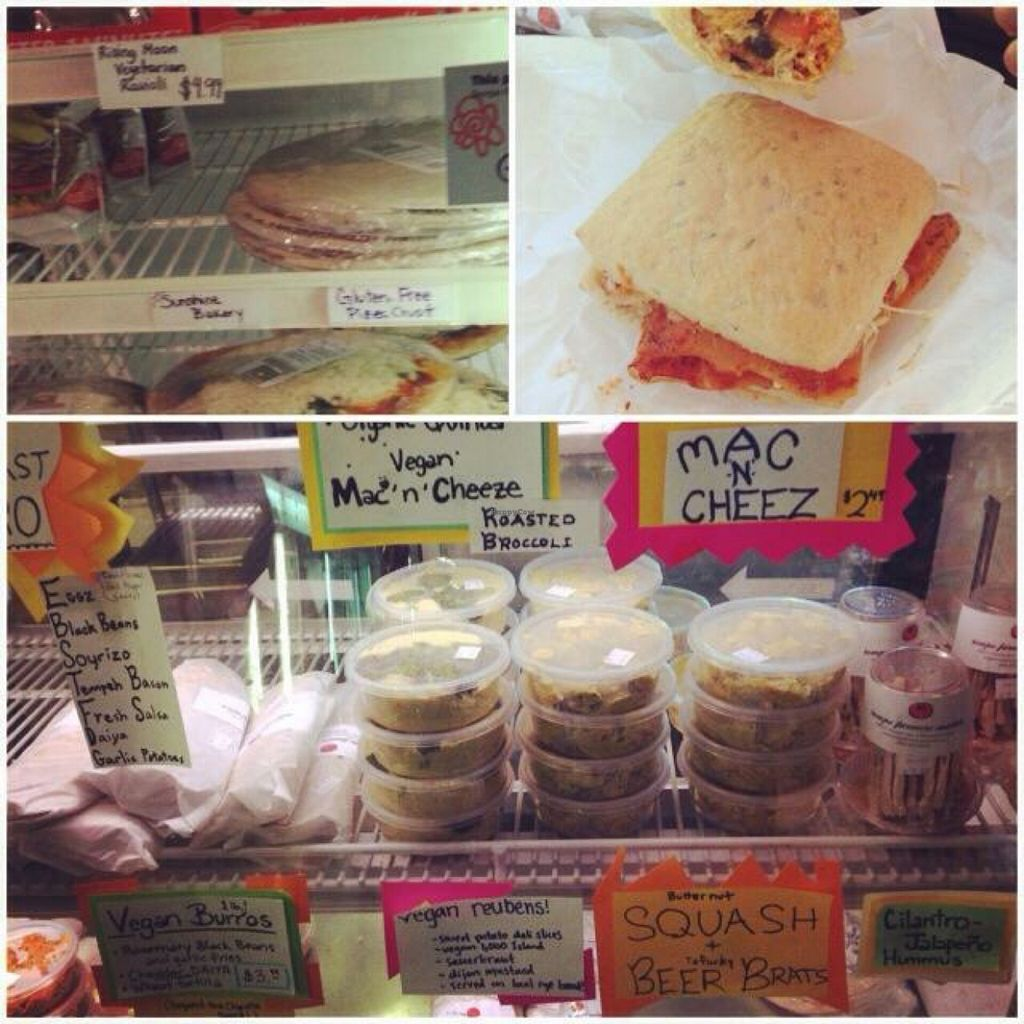 """Photo of Tempe Farmers' Market  by <a href=""""/members/profile/ohemgee"""">ohemgee</a> <br/>vegan deli  <br/> October 22, 2015  - <a href='/contact/abuse/image/31678/122209'>Report</a>"""