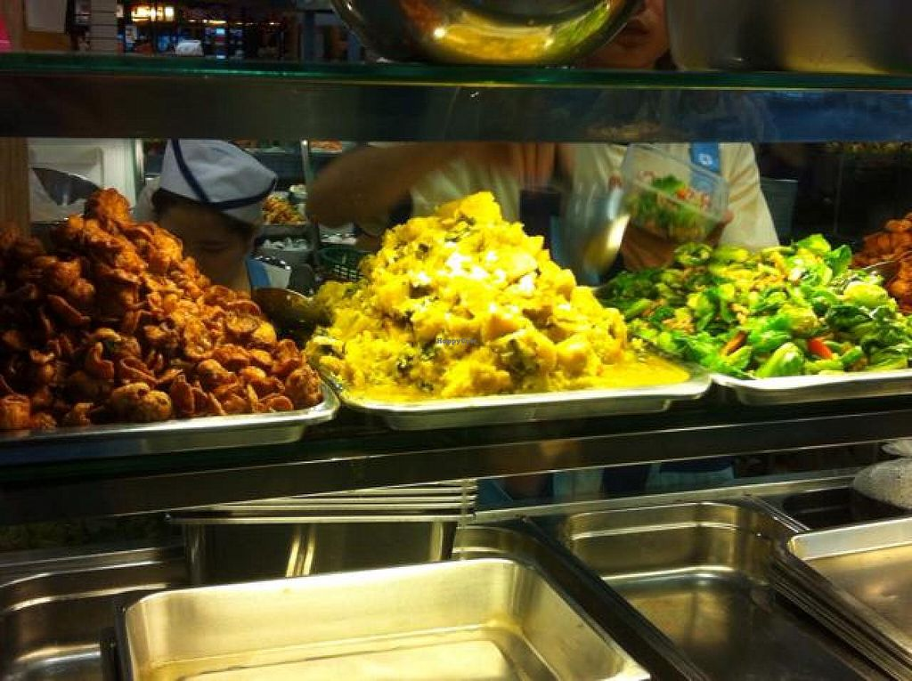 "Photo of Terminal 21 - Veg Stall Food Court  by <a href=""/members/profile/NebNitram"">NebNitram</a> <br/>Rice plus your choice of a few dishes <br/> October 7, 2014  - <a href='/contact/abuse/image/31708/82388'>Report</a>"