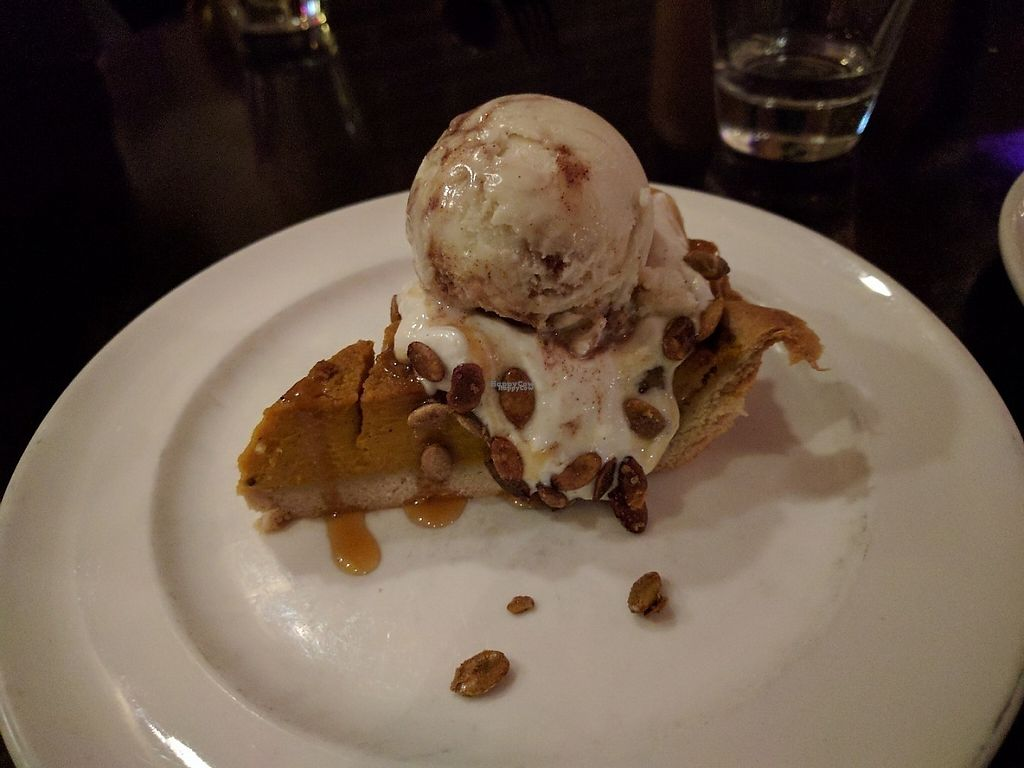 """Photo of Candle Cafe West  by <a href=""""/members/profile/steveveg"""">steveveg</a> <br/>Pumpkin Pie <br/> December 31, 2016  - <a href='/contact/abuse/image/31715/206416'>Report</a>"""