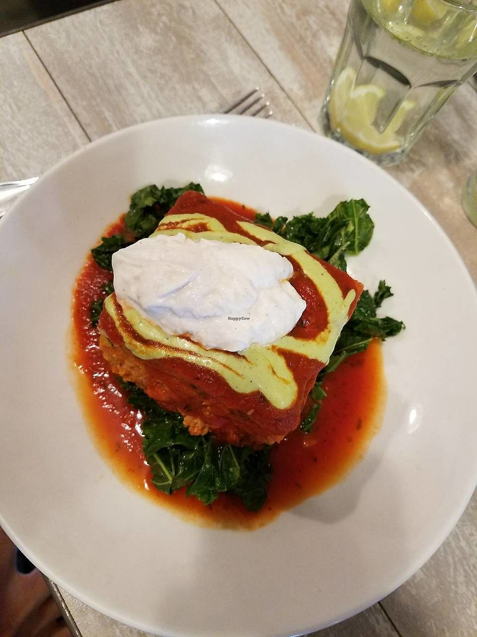 """Photo of Candle Cafe West  by <a href=""""/members/profile/Katyathevegan"""">Katyathevegan</a> <br/>Sweet potato lasagna-- Their non-dairy cheese was delicious! I was so impressed! <br/> October 16, 2017  - <a href='/contact/abuse/image/31715/315724'>Report</a>"""