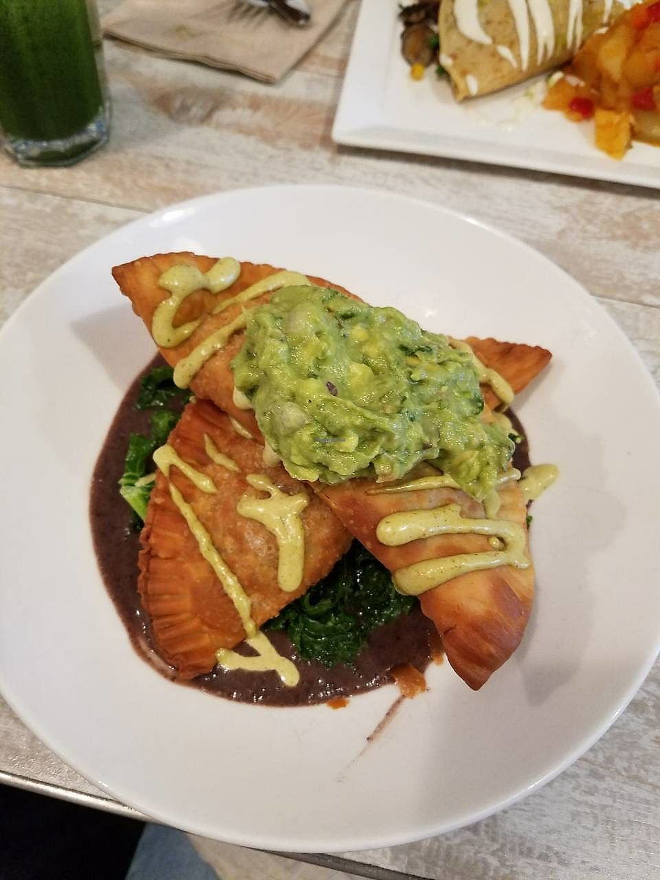 """Photo of Candle Cafe West  by <a href=""""/members/profile/Katyathevegan"""">Katyathevegan</a> <br/>Empanadas-- Seriously amazing! <br/> October 16, 2017  - <a href='/contact/abuse/image/31715/315725'>Report</a>"""