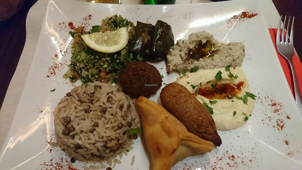 "Photo of La Caravane Passe  by <a href=""/members/profile/gigiveg"">gigiveg</a> <br/>Vegan platter!  <br/> March 6, 2018  - <a href='/contact/abuse/image/31718/367518'>Report</a>"