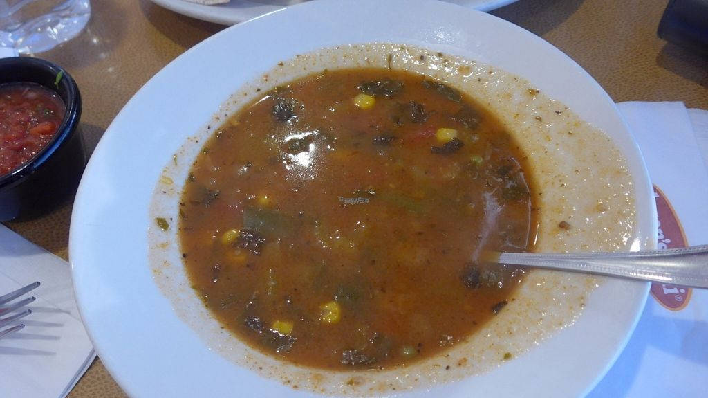 "Photo of Jason's Deli  by <a href=""/members/profile/SaraMarkic"">SaraMarkic</a> <br/>vegan vegetable soup, tasty and a little bit spicy <br/> October 19, 2016  - <a href='/contact/abuse/image/31737/183025'>Report</a>"