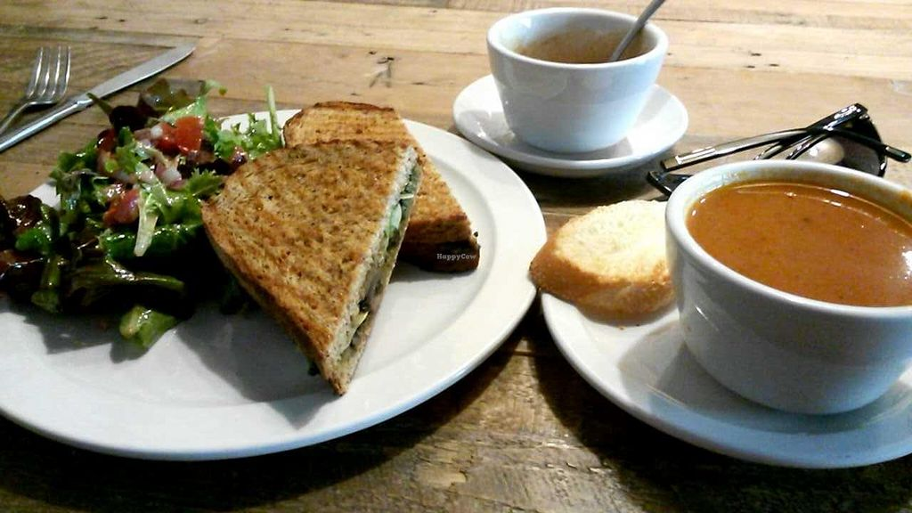 "Photo of Green Bliss - the Cafe  by <a href=""/members/profile/LiilyPadd"">LiilyPadd</a> <br/>Avo campania with affogato and tomato basil soup  <br/> February 2, 2015  - <a href='/contact/abuse/image/31742/91974'>Report</a>"