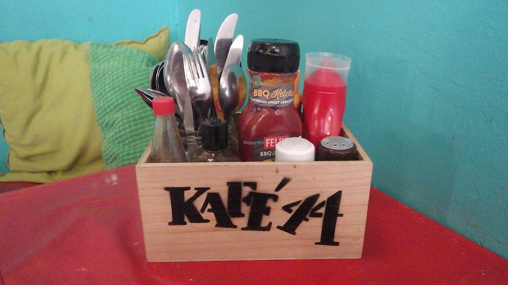 """Photo of Kafe 44  by <a href=""""/members/profile/deadpledge"""">deadpledge</a> <br/>Kafe 44 survival kit <br/> July 31, 2017  - <a href='/contact/abuse/image/31758/287014'>Report</a>"""