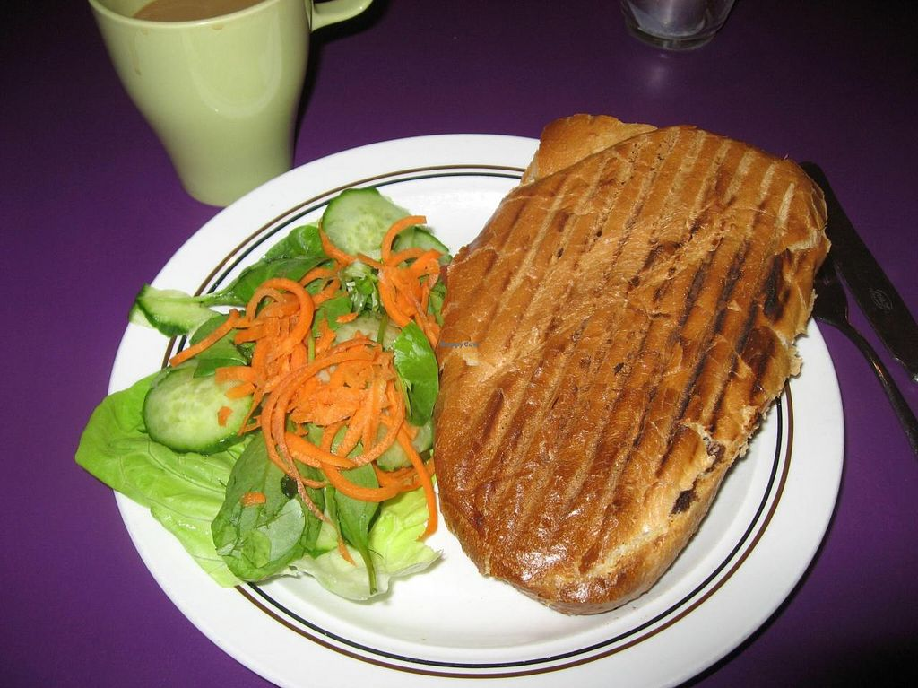 """Photo of Kafe 44  by <a href=""""/members/profile/Sakuru"""">Sakuru</a> <br/>Warm sandwich with side sallad <br/> October 13, 2014  - <a href='/contact/abuse/image/31758/82803'>Report</a>"""