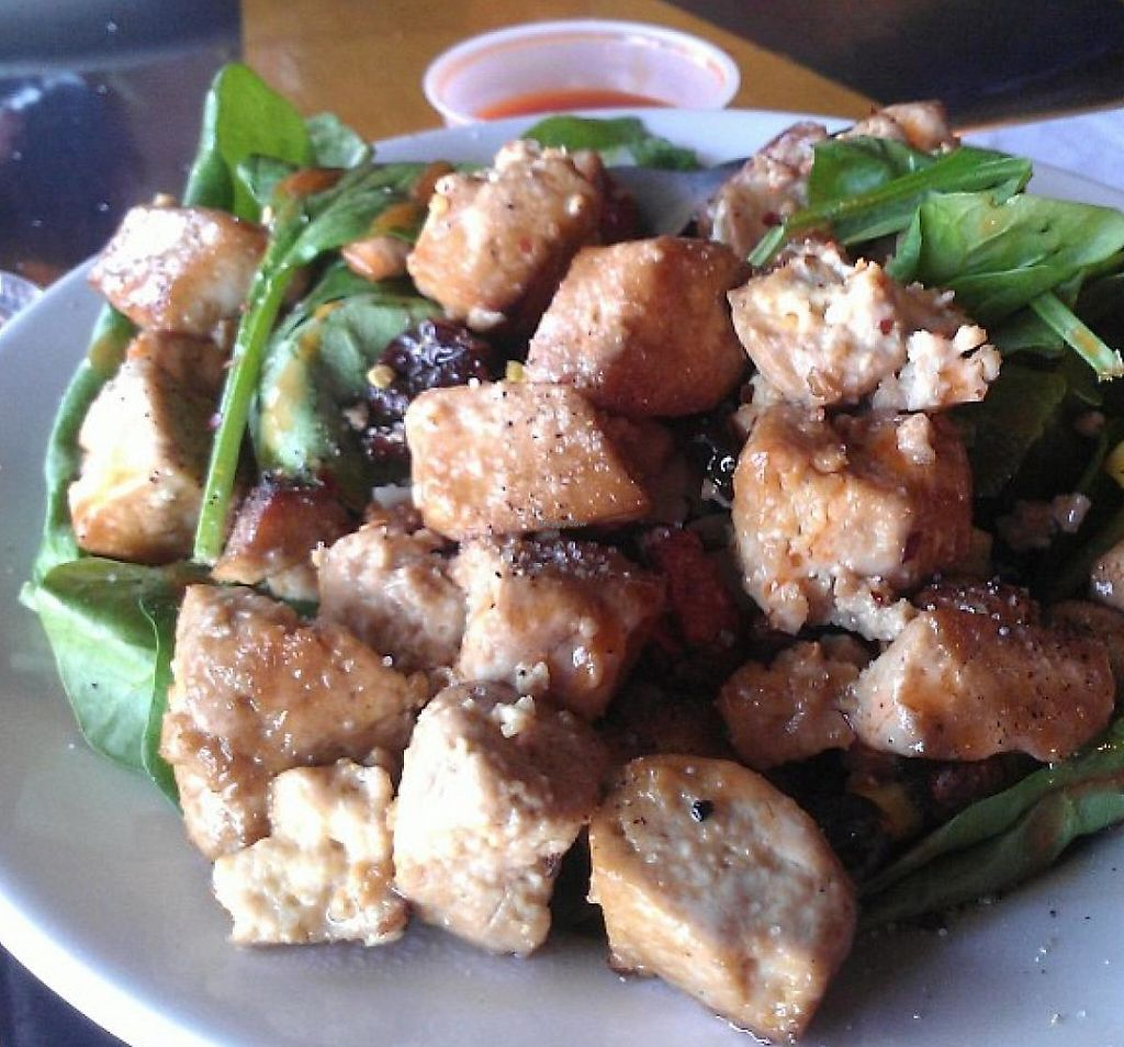 "Photo of Lilly's Pizza  by <a href=""/members/profile/meredith"">meredith</a> <br/>Tofu Salad.  <br/> January 9, 2014  - <a href='/contact/abuse/image/31765/215165'>Report</a>"