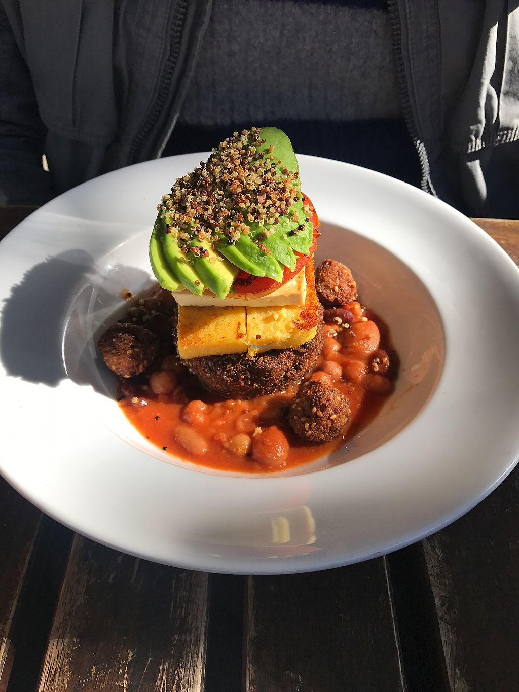 """Photo of Mad Spuds  by <a href=""""/members/profile/Lozcriston"""">Lozcriston</a> <br/>vegan Stack  <br/> July 24, 2017  - <a href='/contact/abuse/image/31768/284113'>Report</a>"""