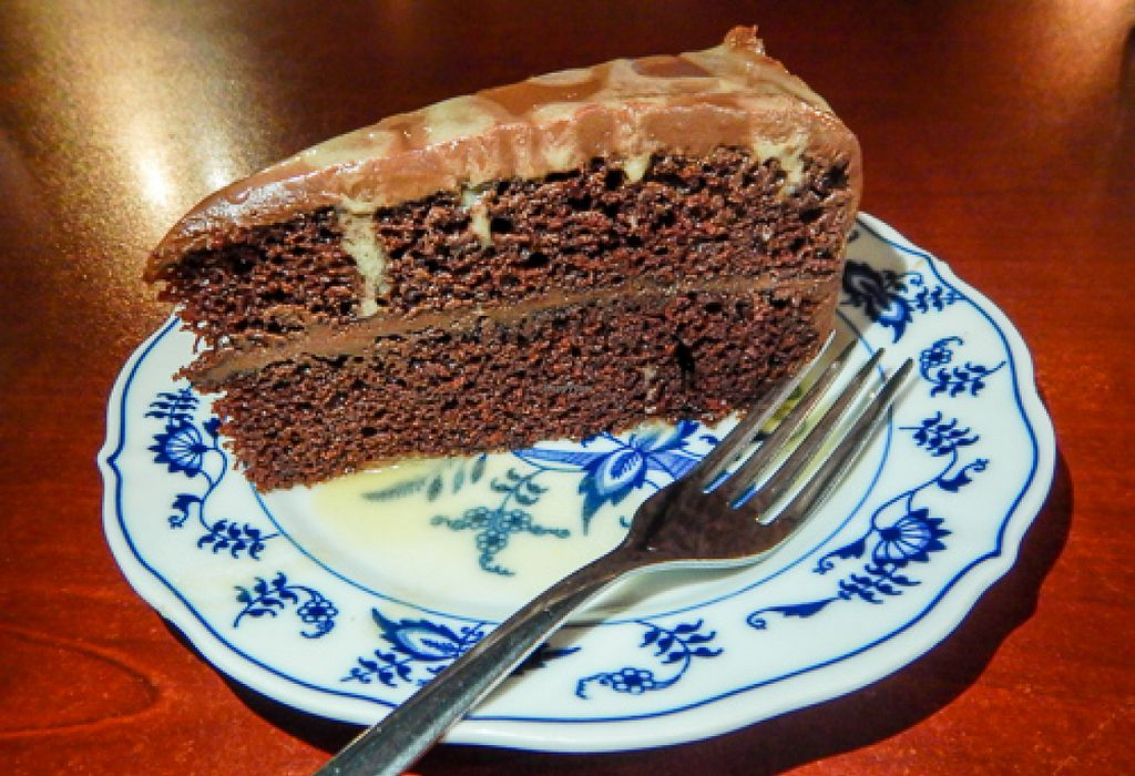 "Photo of Trumpet Blossom Cafe  by <a href=""/members/profile/EverydayTastiness"">EverydayTastiness</a> <br/>chocolate cake <br/> August 1, 2015  - <a href='/contact/abuse/image/31914/111890'>Report</a>"