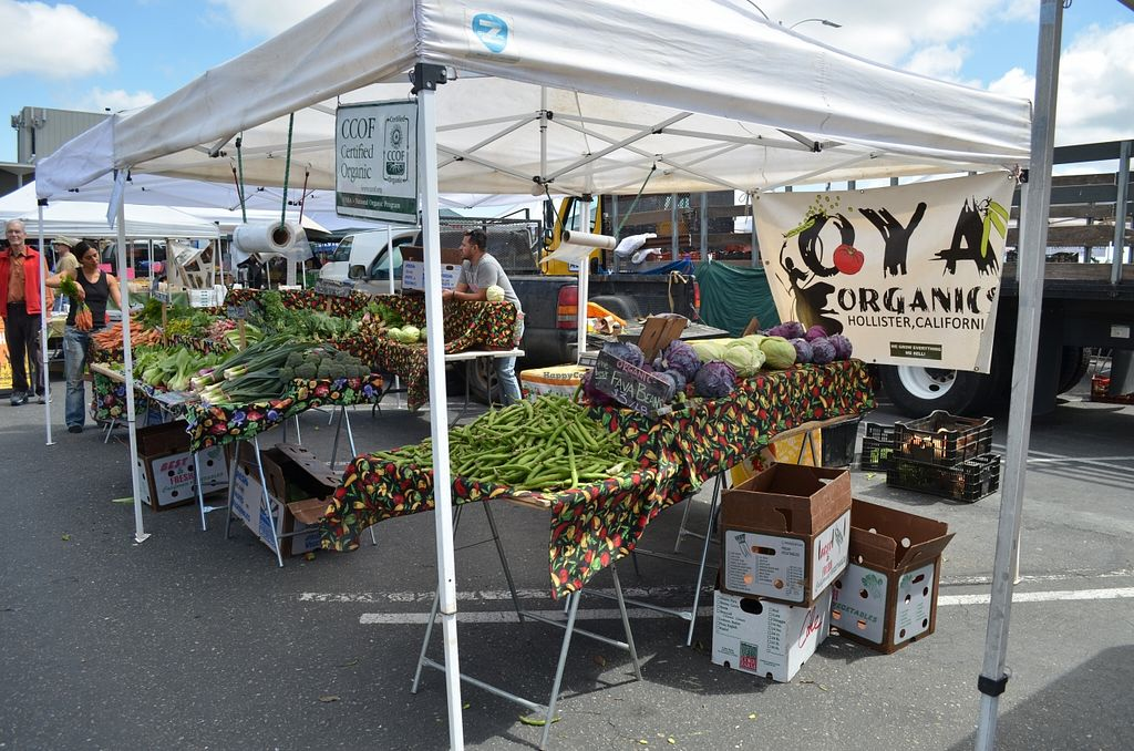 """Photo of College of San Mateo Farmers' Market  by <a href=""""/members/profile/alexandra_vegan"""">alexandra_vegan</a> <br/>April 2016 <br/> April 27, 2016  - <a href='/contact/abuse/image/31968/146494'>Report</a>"""