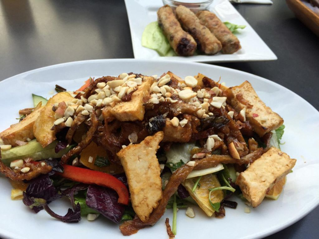 """Photo of Chay Viet  by <a href=""""/members/profile/Ruffvegan"""">Ruffvegan</a> <br/>apetiser salad <br/> June 29, 2015  - <a href='/contact/abuse/image/31988/107622'>Report</a>"""