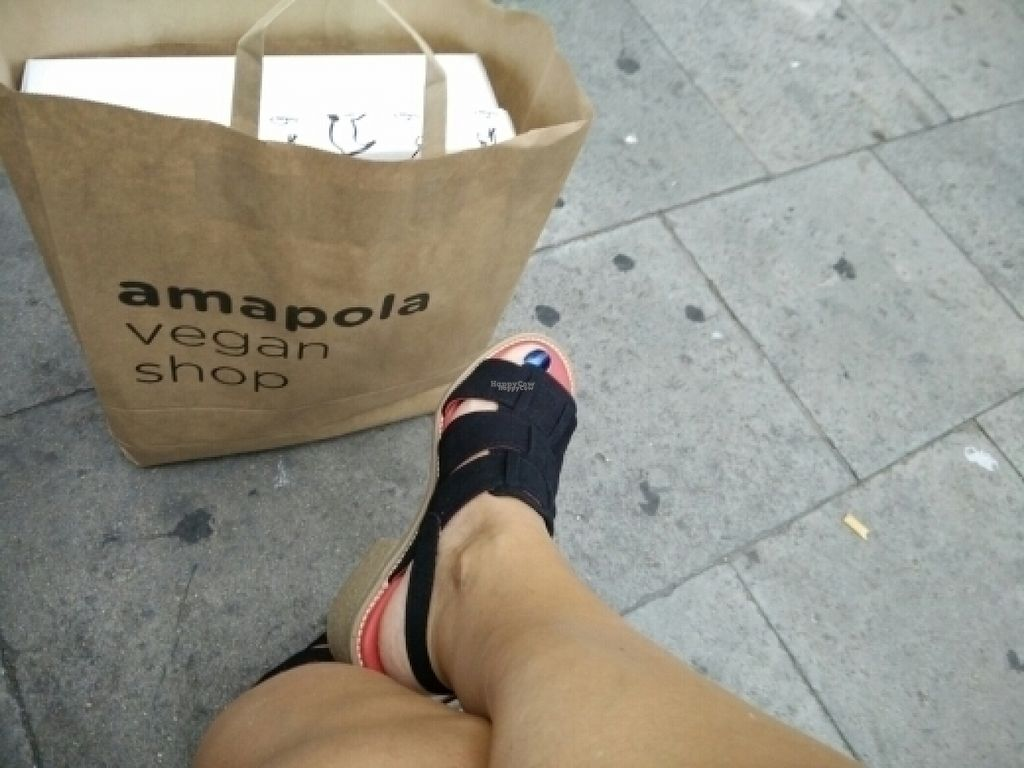 """Photo of Amapola Vegan Shop  by <a href=""""/members/profile/elh_sweden"""">elh_sweden</a> <br/>Shopping for vegan fashion  <br/> August 10, 2016  - <a href='/contact/abuse/image/32000/167541'>Report</a>"""