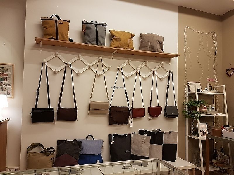 """Photo of Amapola Vegan Shop  by <a href=""""/members/profile/TrudiBruges"""">TrudiBruges</a> <br/>inside Amapolo, handbags <br/> February 16, 2018  - <a href='/contact/abuse/image/32000/359927'>Report</a>"""