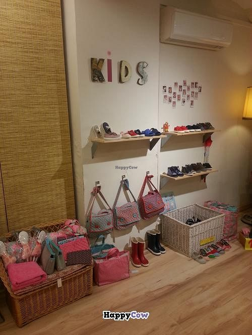 """Photo of Amapola Vegan Shop  by <a href=""""/members/profile/Harp"""">Harp</a> <br/>Vegan kids <br/> September 3, 2013  - <a href='/contact/abuse/image/32000/54263'>Report</a>"""