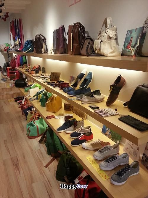 """Photo of Amapola Vegan Shop  by <a href=""""/members/profile/Harp"""">Harp</a> <br/>Vegan bags, shoes and more <br/> September 3, 2013  - <a href='/contact/abuse/image/32000/54264'>Report</a>"""