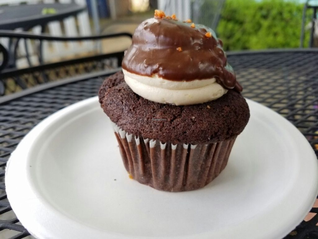 """Photo of Capital City Bakery  by <a href=""""/members/profile/EverydayTastiness"""">EverydayTastiness</a> <br/>peanut butter cupcake <br/> April 9, 2016  - <a href='/contact/abuse/image/32102/143664'>Report</a>"""