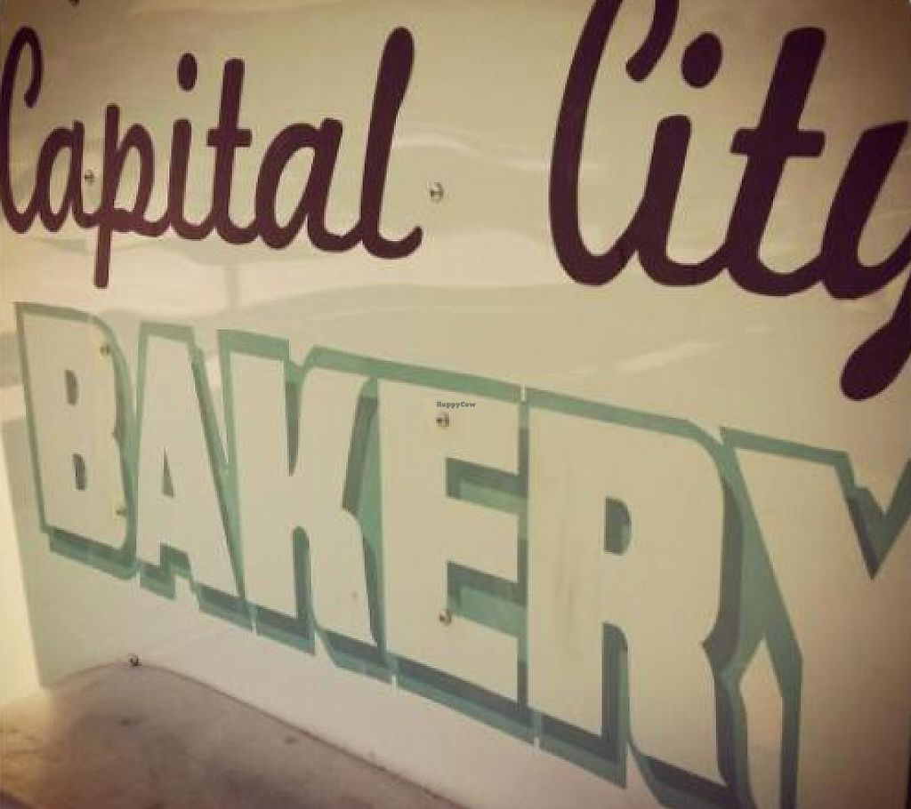 """Photo of Capital City Bakery  by <a href=""""/members/profile/thelittleredjournal"""">thelittleredjournal</a> <br/>Sign on the food truck <br/> May 3, 2013  - <a href='/contact/abuse/image/32102/226080'>Report</a>"""