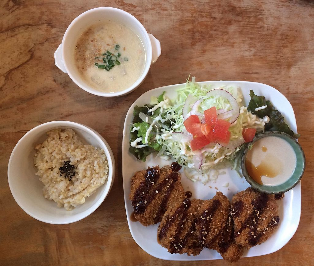"""Photo of Morpho Cafe  by <a href=""""/members/profile/yanina"""">yanina</a> <br/>fried soy meat plate  <br/> January 19, 2018  - <a href='/contact/abuse/image/32107/348225'>Report</a>"""