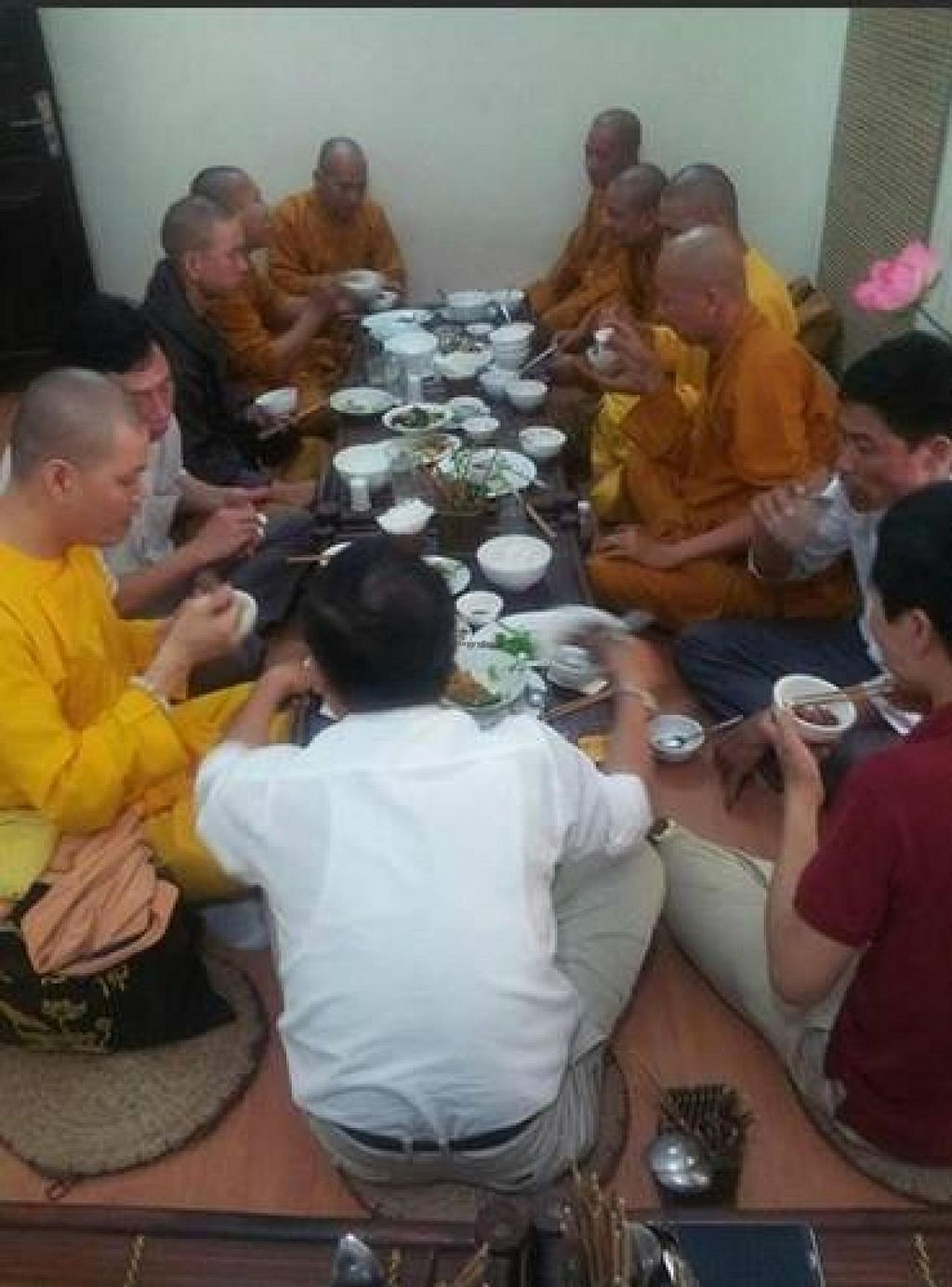 """Photo of An Phuc  by <a href=""""/members/profile/Ngoc%20Nga"""">Ngoc Nga</a> <br/>My friends anh monks have lunch at An Phúc   <br/> June 30, 2014  - <a href='/contact/abuse/image/32126/72974'>Report</a>"""