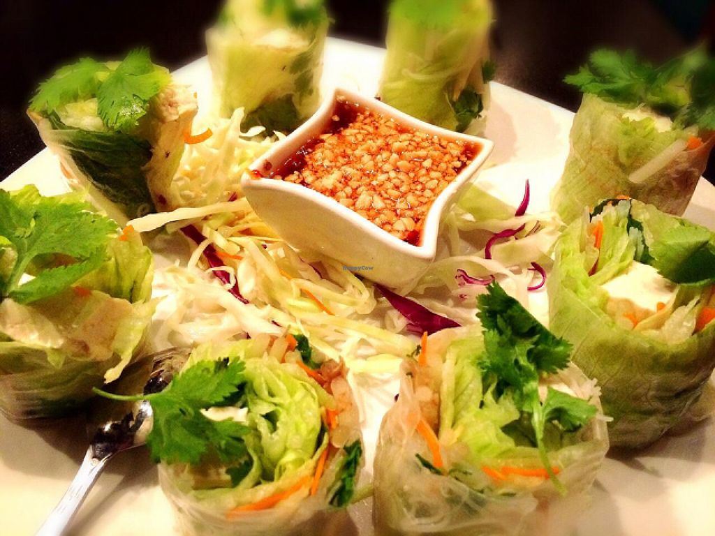 "Photo of Naga Thai Dining  by <a href=""/members/profile/Gourev"">Gourev</a> <br/>Veggie Rolls <br/> July 12, 2015  - <a href='/contact/abuse/image/32131/109132'>Report</a>"