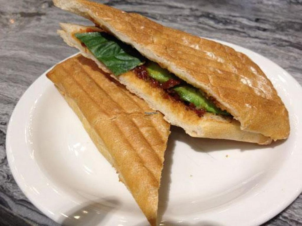 "Photo of REMOVED: The Library Cafe  by <a href=""/members/profile/JChan"">JChan</a> <br/>Very nice grilled bread <br/> June 10, 2014  - <a href='/contact/abuse/image/32133/71761'>Report</a>"
