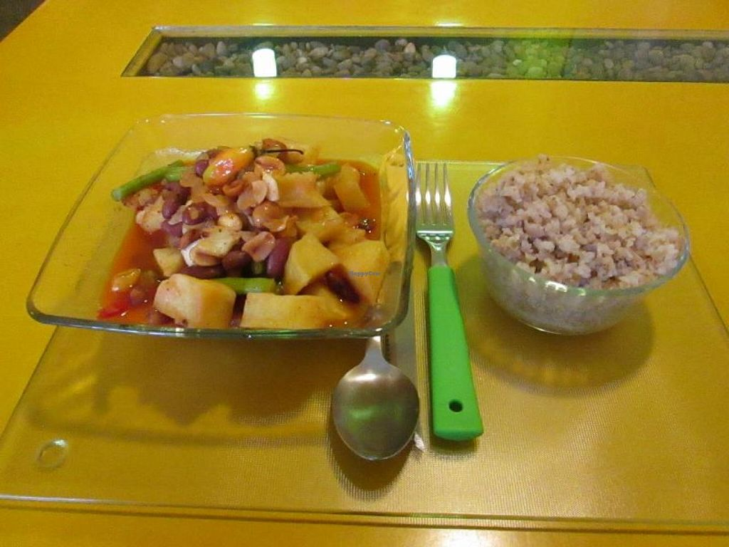 """Photo of Tierra Sana  by <a href=""""/members/profile/choogirl"""">choogirl</a> <br/>Sweet and sour curry <br/> January 14, 2014  - <a href='/contact/abuse/image/32160/62511'>Report</a>"""