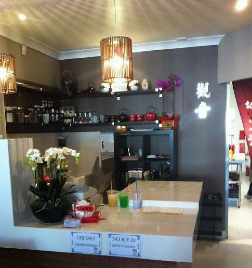"""Photo of Kuan Yin Tea House - Gold Coast  by <a href=""""/members/profile/Kieli"""">Kieli</a> <br/>Newly open in Southport! Great setting, love the Kuan Yin statue :) <br/> May 9, 2012  - <a href='/contact/abuse/image/32167/254293'>Report</a>"""