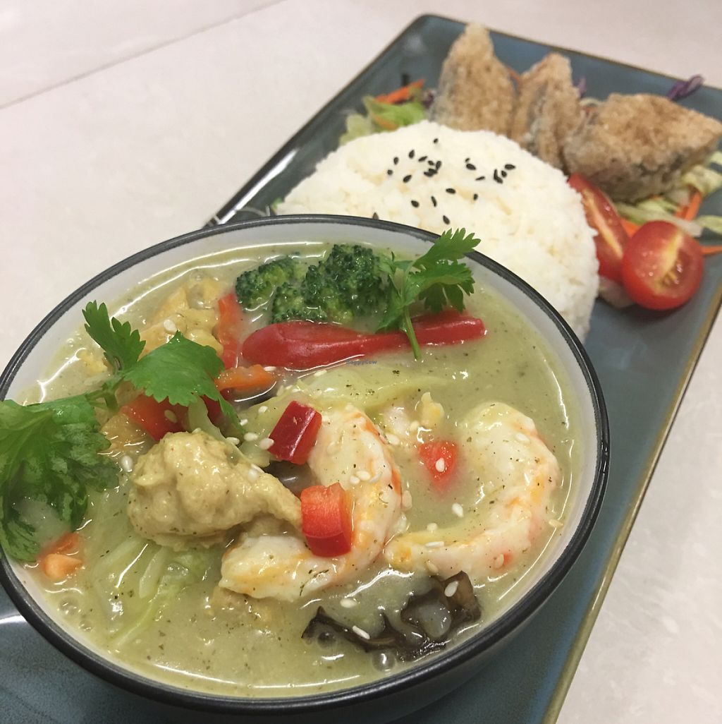 """Photo of Kuan Yin Tea House - Gold Coast  by <a href=""""/members/profile/clarklin"""">clarklin</a> <br/>Thai seafood green curry.  <br/> May 19, 2017  - <a href='/contact/abuse/image/32167/260335'>Report</a>"""