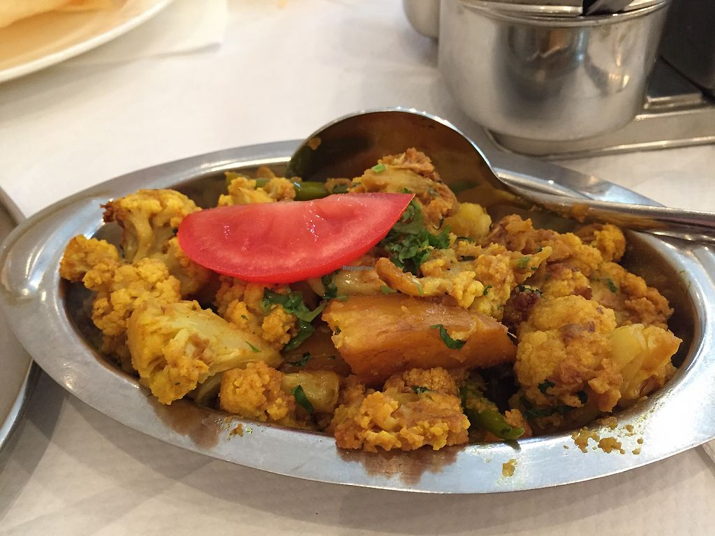 """Photo of Delhi Wala  by <a href=""""/members/profile/Jrosworld"""">Jrosworld</a> <br/>Aloo Gobhi, £4.95 <br/> August 2, 2017  - <a href='/contact/abuse/image/32171/288072'>Report</a>"""