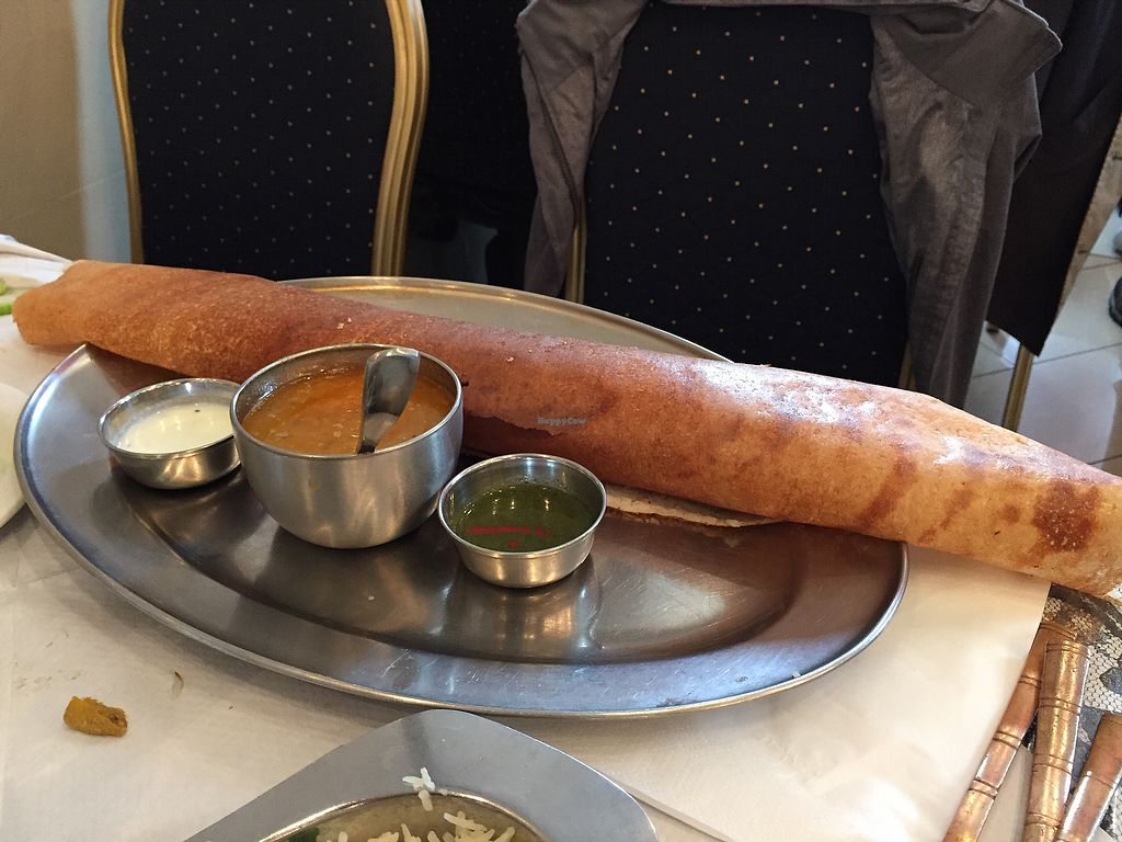 """Photo of Delhi Wala  by <a href=""""/members/profile/Jrosworld"""">Jrosworld</a> <br/>Mysoor Masala (Dosa), £5.50 <br/> August 2, 2017  - <a href='/contact/abuse/image/32171/288073'>Report</a>"""