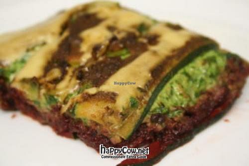 """Photo of Boris Lauser Vegan Raw Chef  by <a href=""""/members/profile/balive"""">balive</a> <br/>Vegetable Spinach Lasagne <br/> July 13, 2012  - <a href='/contact/abuse/image/32196/34404'>Report</a>"""