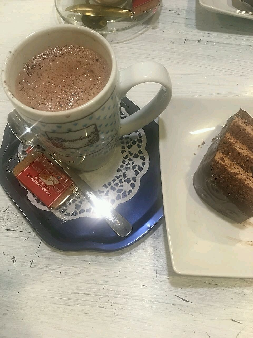 "Photo of Dolce Cielo  by <a href=""/members/profile/Wilkou"">Wilkou</a> <br/>Vegan chocolate Torte and hot cocoa <br/> January 27, 2018  - <a href='/contact/abuse/image/32207/351543'>Report</a>"