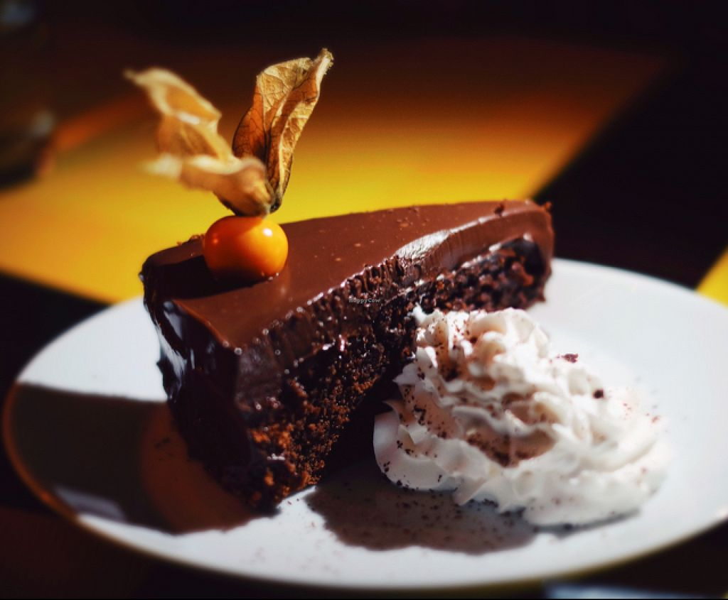 Photo of Vaust Braugaststatte  by Michal.info <br/>chocolate cake  <br/> July 30, 2015  - <a href='/contact/abuse/image/32229/111617'>Report</a>