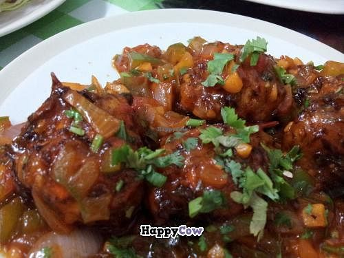 """Photo of CLOSED: Lucky  by <a href=""""/members/profile/dinotori"""">dinotori</a> <br/>'Veg. Manchurian': delicious and spicy <br/> November 23, 2013  - <a href='/contact/abuse/image/32240/58873'>Report</a>"""