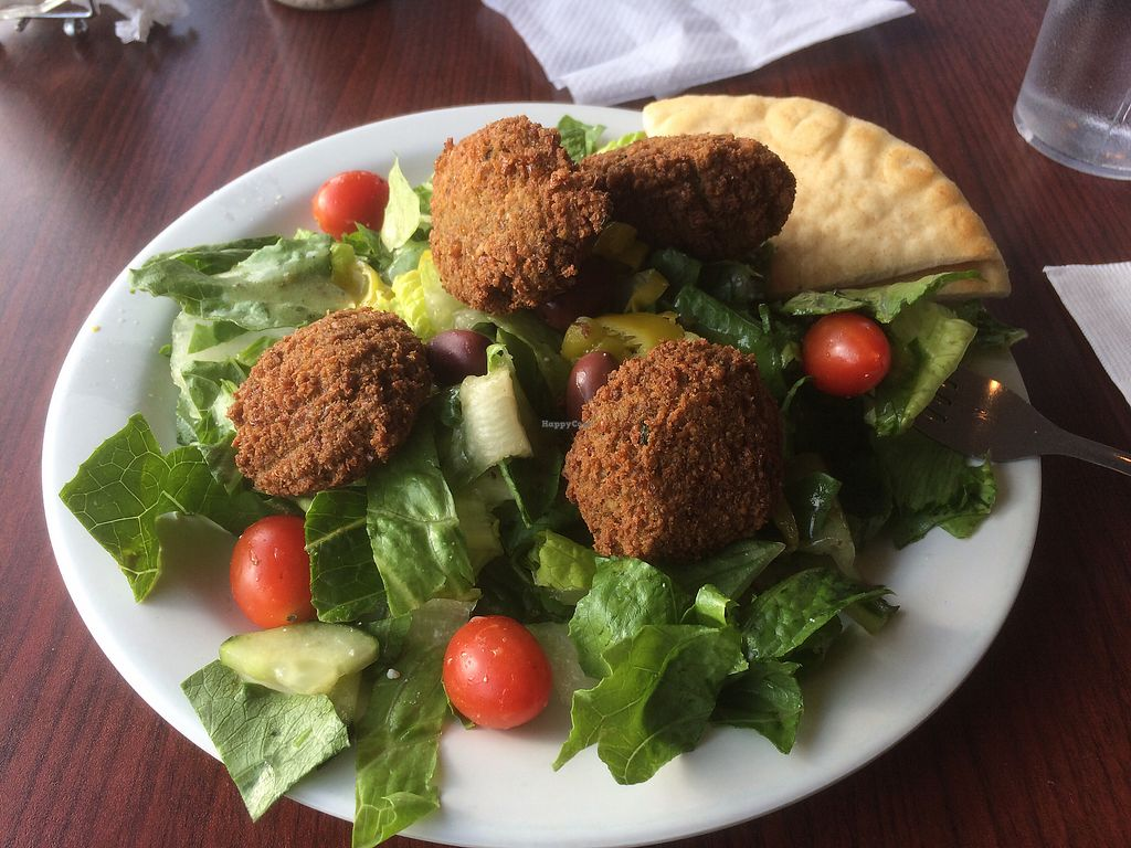 """Photo of Nupa  by <a href=""""/members/profile/jocoffee"""">jocoffee</a> <br/>Falafel Salad, ordered dairy free <br/> December 5, 2017  - <a href='/contact/abuse/image/32251/332616'>Report</a>"""