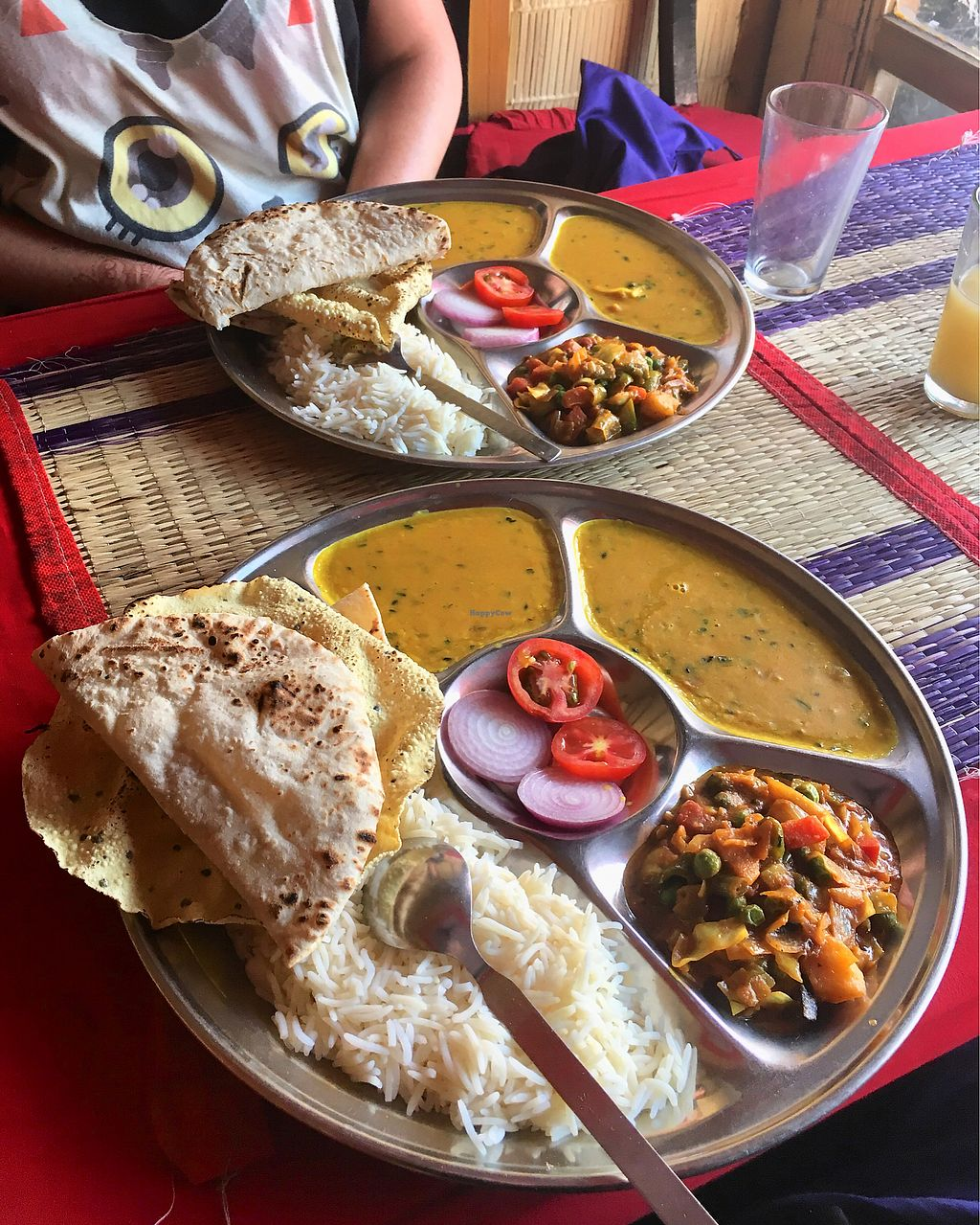 "Photo of Shankara Vegis  by <a href=""/members/profile/CamilaSilvaL"">CamilaSilvaL</a> <br/>Thali (140 rupees for all!!!) <br/> March 11, 2018  - <a href='/contact/abuse/image/32289/369133'>Report</a>"