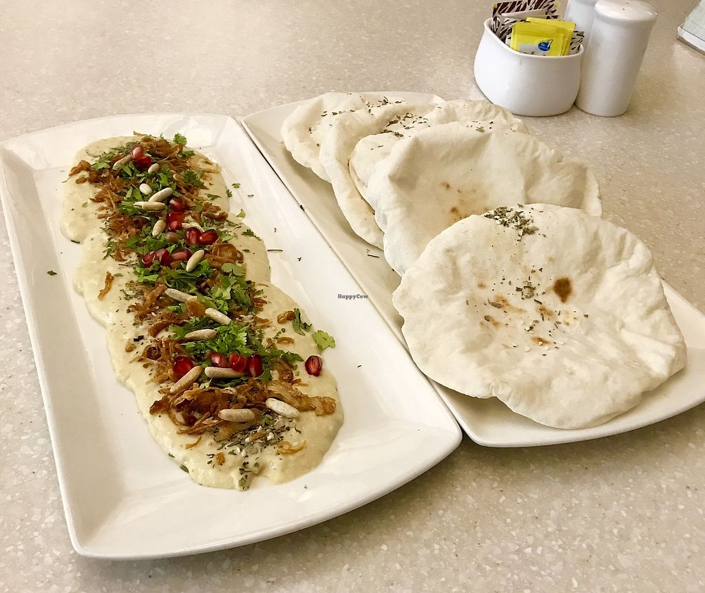 """Photo of Anokhi Cafe  by <a href=""""/members/profile/Libra77"""">Libra77</a> <br/>Houmous plate <br/> March 29, 2018  - <a href='/contact/abuse/image/32291/377855'>Report</a>"""