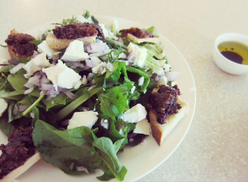 """Photo of Anokhi Cafe  by <a href=""""/members/profile/pritam"""">pritam</a> <br/>olive tapenade salad <br/> March 23, 2015  - <a href='/contact/abuse/image/32291/96644'>Report</a>"""