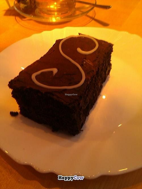"""Photo of Cassius Garten  by <a href=""""/members/profile/Mademoisella"""">Mademoisella</a> <br/>Yummy vegan chocolate cake! <br/> October 7, 2013  - <a href='/contact/abuse/image/3229/56350'>Report</a>"""
