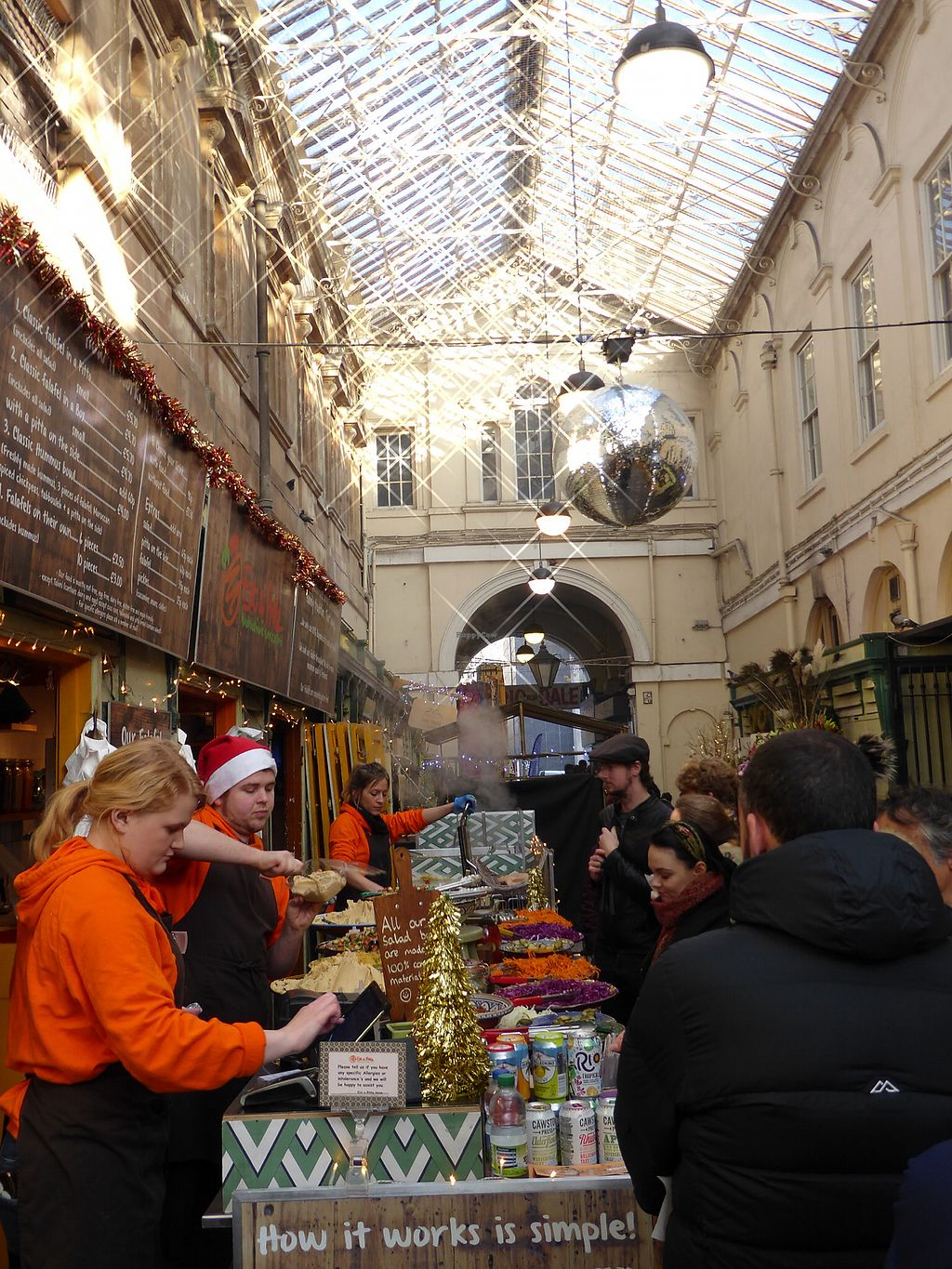 """Photo of Eat a Pitta - St Nicholas Market  by <a href=""""/members/profile/FranMcgarryArtist"""">FranMcgarryArtist</a> <br/>Great Value Vegan Food <br/> January 22, 2018  - <a href='/contact/abuse/image/32313/349857'>Report</a>"""