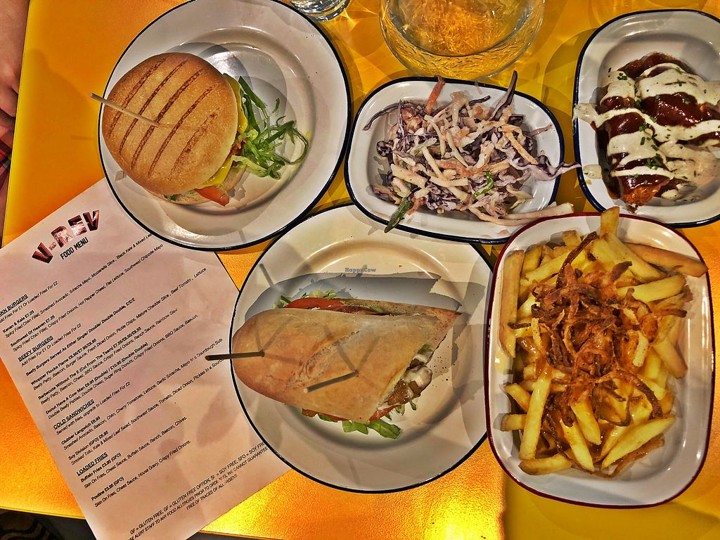 """Photo of V Rev Vegan Diner  by <a href=""""/members/profile/AWild"""">AWild</a> <br/>Comfort Food <br/> April 5, 2018  - <a href='/contact/abuse/image/32339/381153'>Report</a>"""