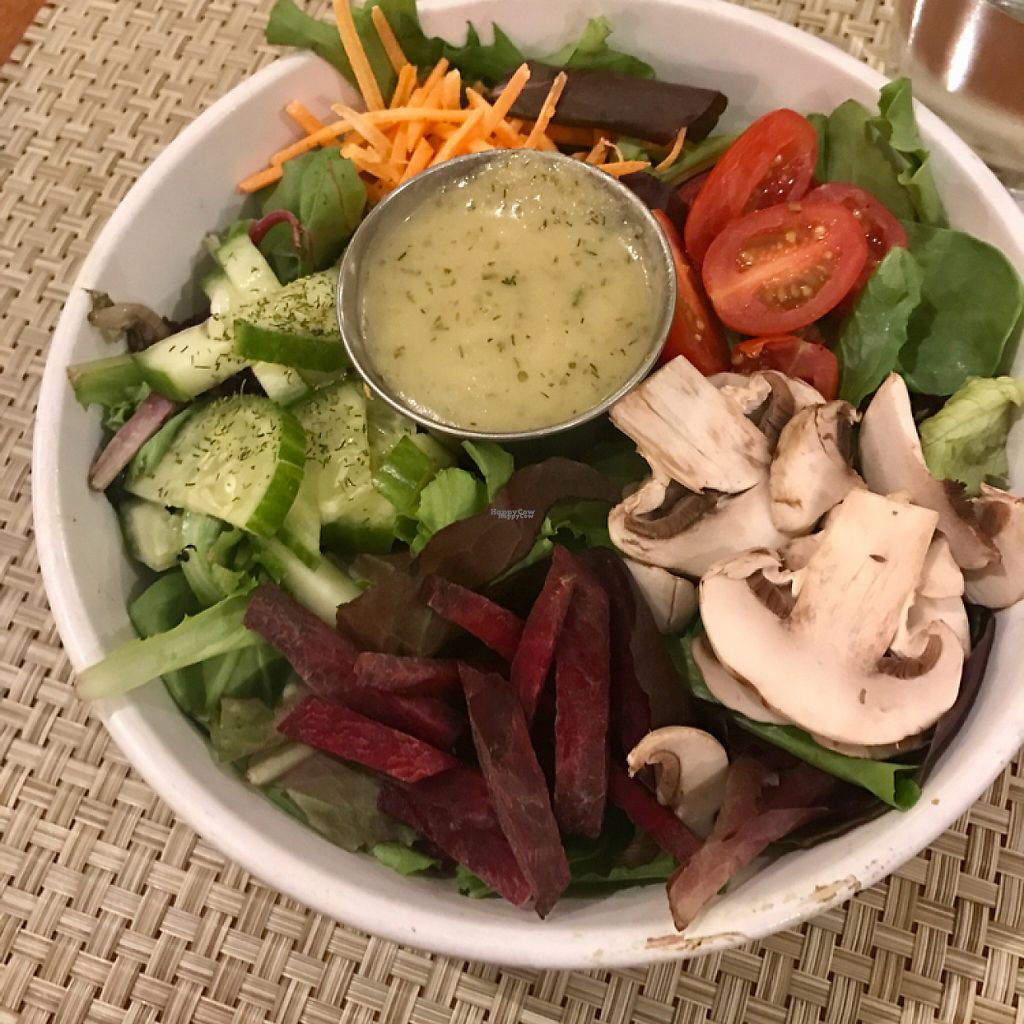 """Photo of Detroit Vegan Soul - East  by <a href=""""/members/profile/pinaclaudiaa"""">pinaclaudiaa</a> <br/>Garden salad <br/> November 27, 2016  - <a href='/contact/abuse/image/32342/194919'>Report</a>"""