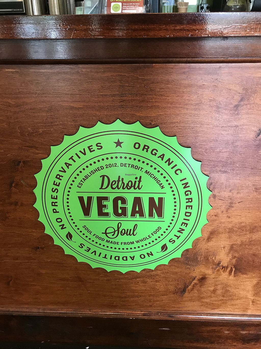 """Photo of Detroit Vegan Soul - East  by <a href=""""/members/profile/chuck_87"""">chuck_87</a> <br/>Awesome  <br/> July 18, 2017  - <a href='/contact/abuse/image/32342/281947'>Report</a>"""