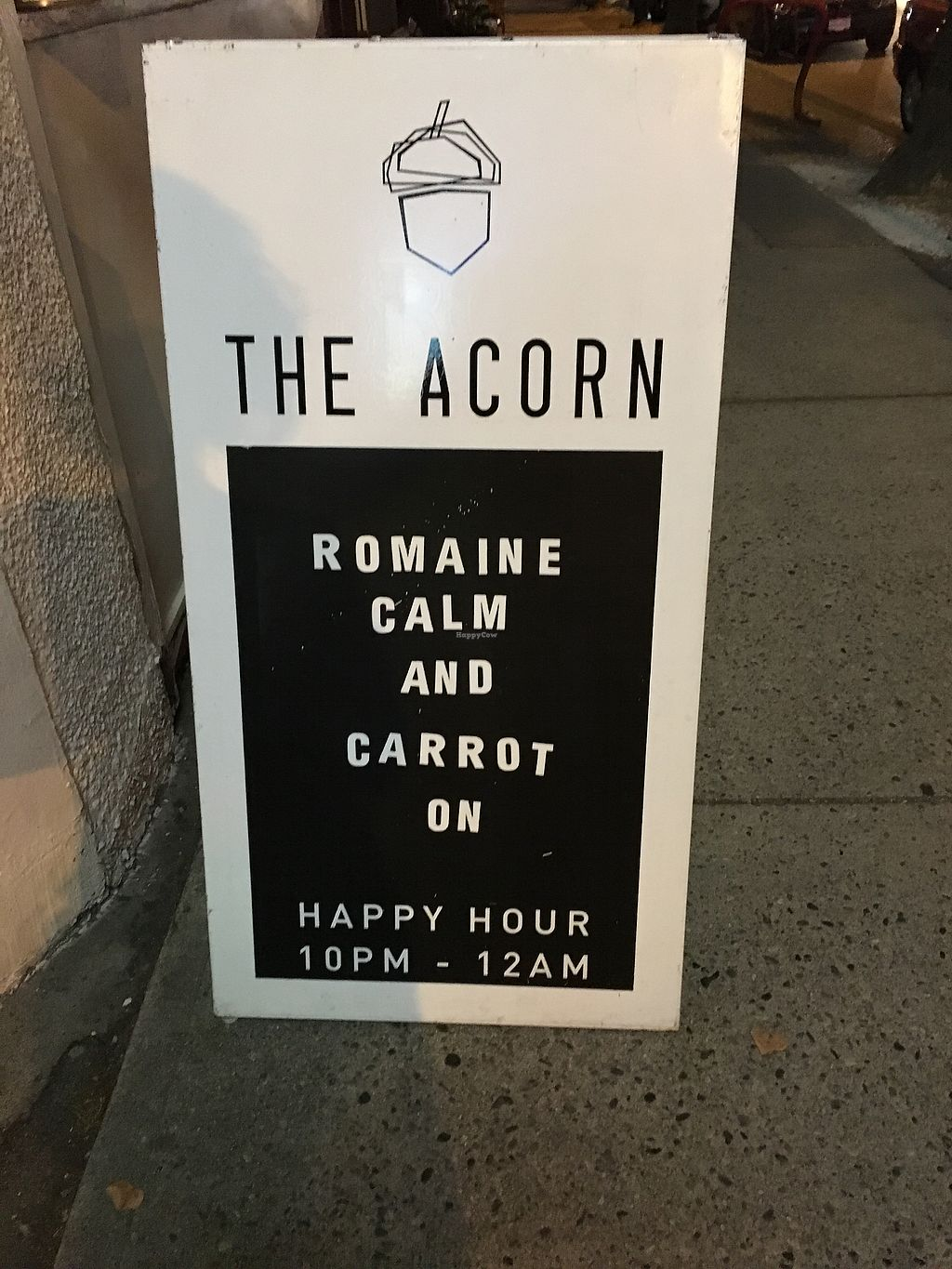 """Photo of The Acorn  by <a href=""""/members/profile/dlachica"""">dlachica</a> <br/>signage <br/> September 2, 2017  - <a href='/contact/abuse/image/32348/300122'>Report</a>"""