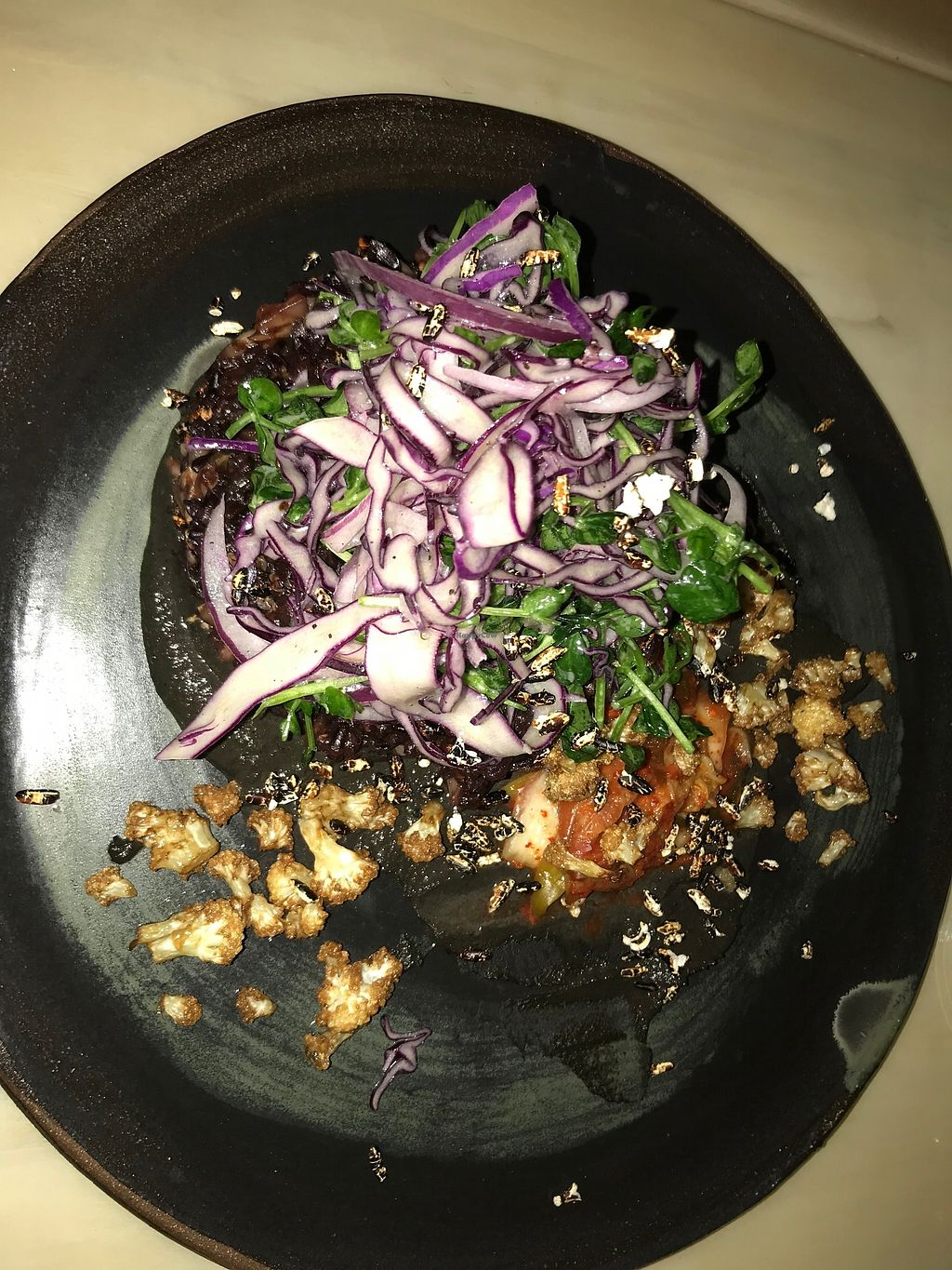 """Photo of The Acorn  by <a href=""""/members/profile/arisberna"""">arisberna</a> <br/>kimchi with rice and mushroom <br/> January 11, 2018  - <a href='/contact/abuse/image/32348/345572'>Report</a>"""