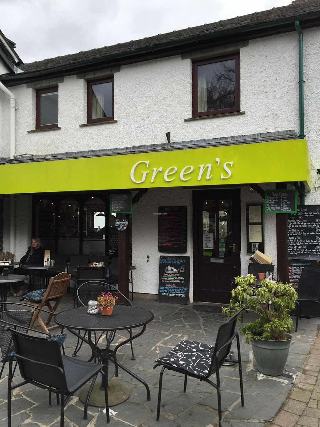 """Photo of Greens Cafe  by <a href=""""/members/profile/Squirrel64"""">Squirrel64</a> <br/>Shop front <br/> March 21, 2016  - <a href='/contact/abuse/image/32367/140836'>Report</a>"""