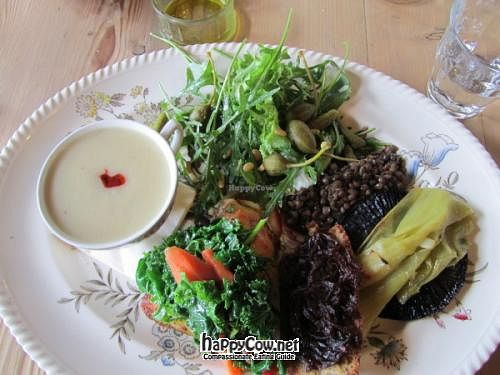 """Photo of The Goods Shed  by <a href=""""/members/profile/CLRtraveller"""">CLRtraveller</a> <br/>plate of food from The Goods Shed Restaurant <br/> May 30, 2012  - <a href='/contact/abuse/image/32371/32577'>Report</a>"""