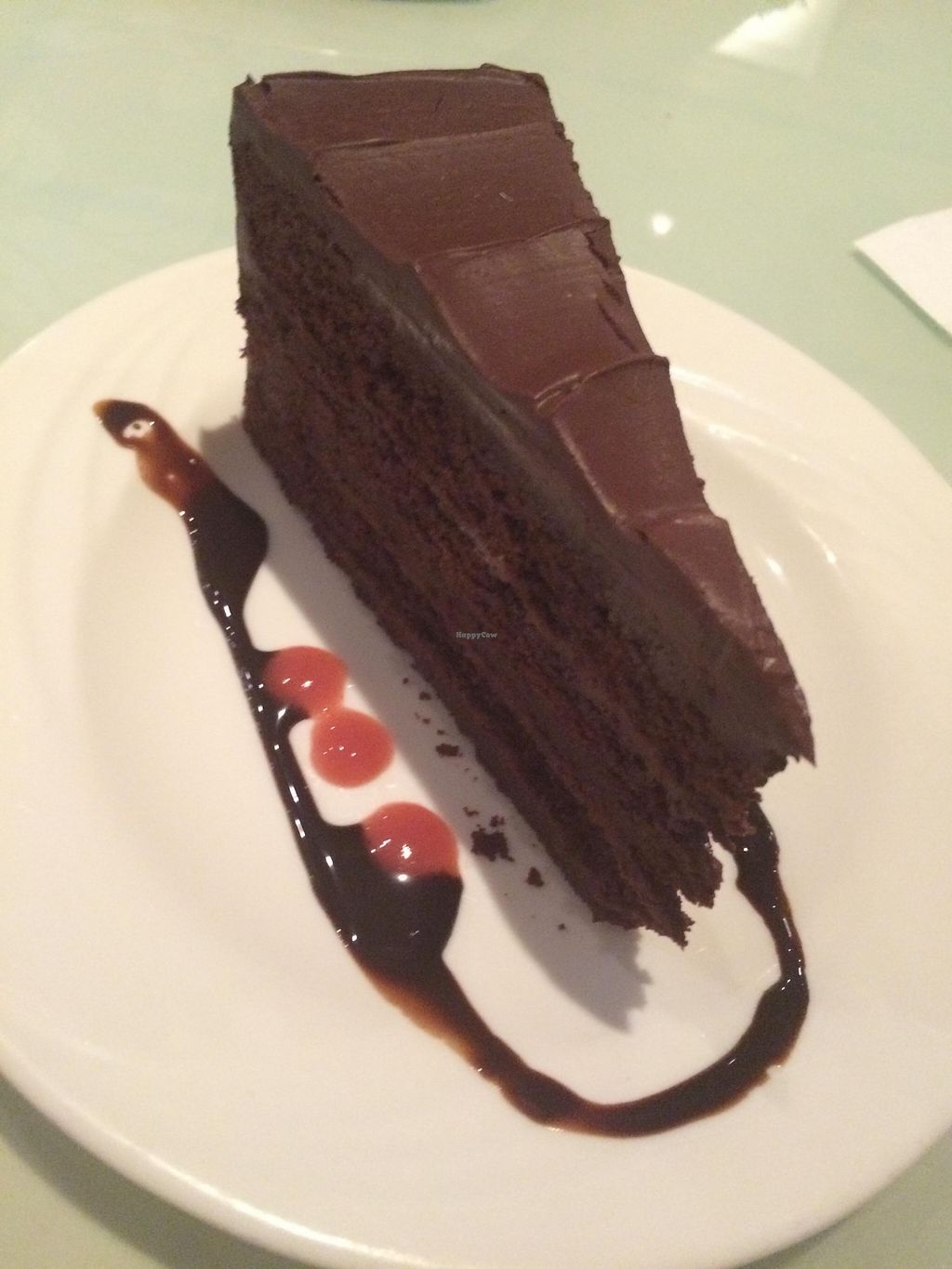 """Photo of Vegetarian Haven  by <a href=""""/members/profile/JazzyCow"""">JazzyCow</a> <br/>Chocolate Cake <br/> October 26, 2015  - <a href='/contact/abuse/image/3237/122789'>Report</a>"""