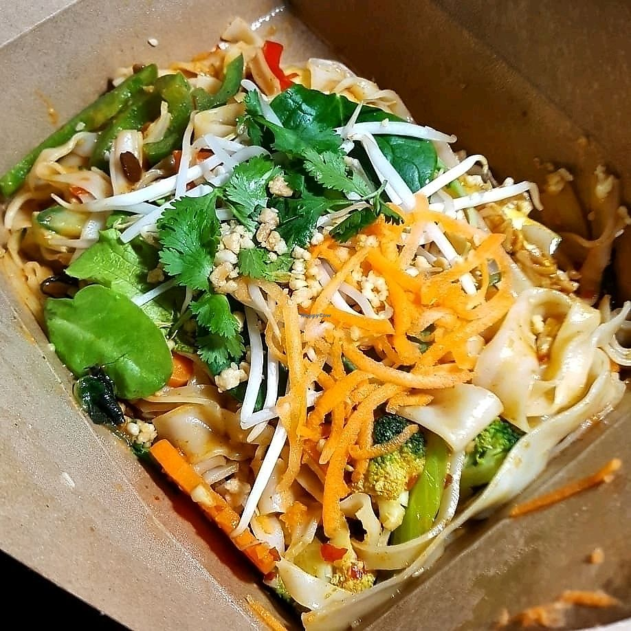 """Photo of Vegetarian Haven  by <a href=""""/members/profile/Brit87"""">Brit87</a> <br/>spicy bali stir-fried rice noodles <br/> February 1, 2018  - <a href='/contact/abuse/image/3237/353369'>Report</a>"""