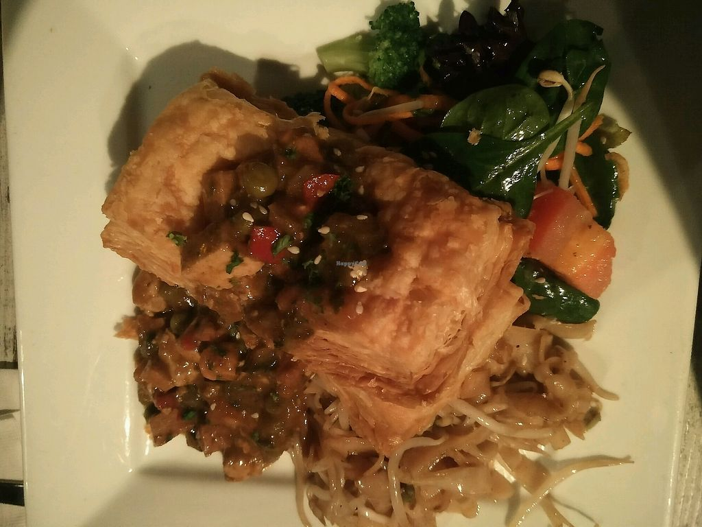 """Photo of Vegetarian Haven  by <a href=""""/members/profile/KallinNagelberg"""">KallinNagelberg</a> <br/>filled pasty special  <br/> March 11, 2018  - <a href='/contact/abuse/image/3237/369105'>Report</a>"""